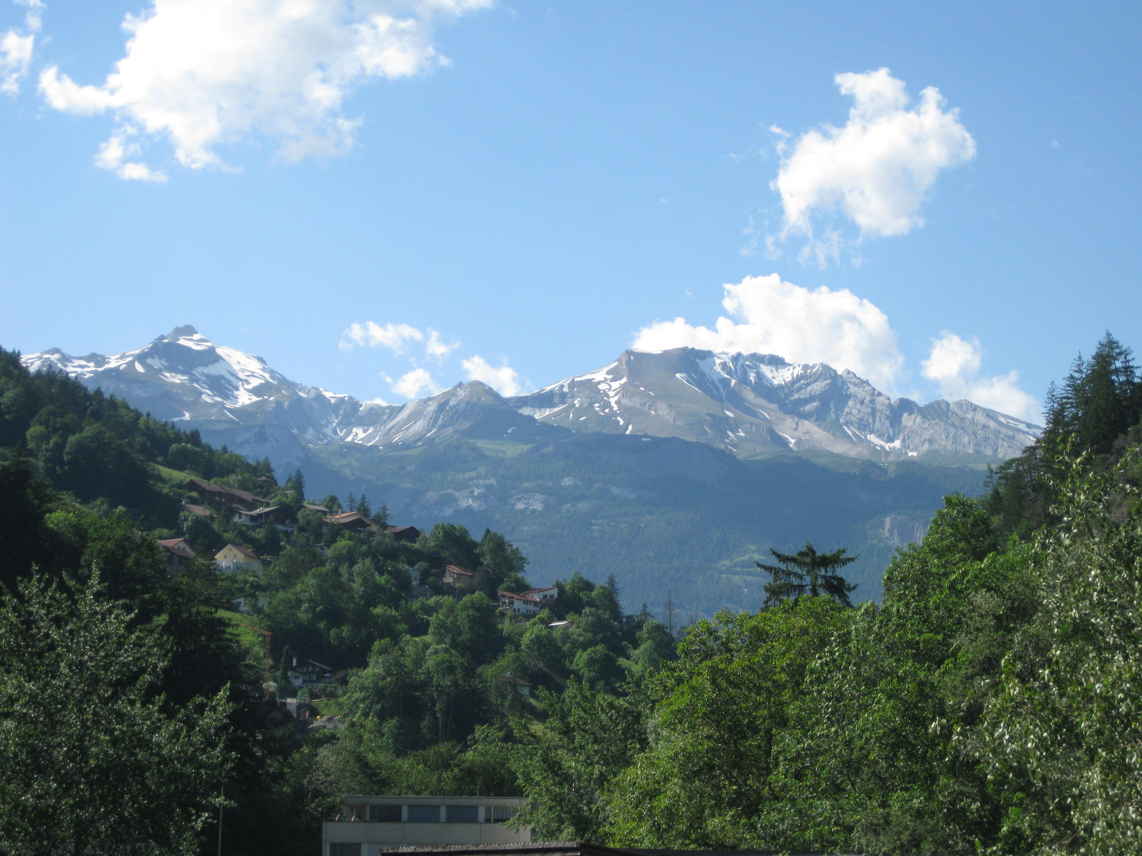 Berge von Graubuenden