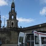 historisches Fernwärmenetz Dresden