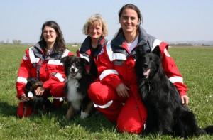 Rettungshunde-Prüfung in Dingolfing