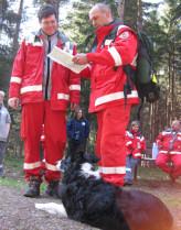 Rettungshunde-Prüfung im Freital