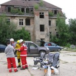 Trümmergelände Rescue Camp